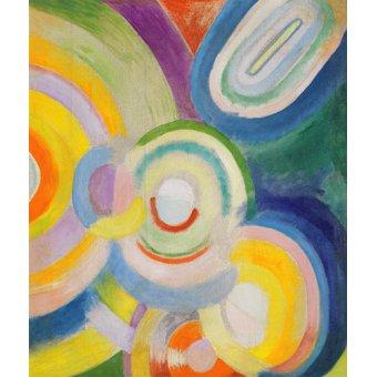 - Quadro - Disques colorés - - Delaunay, Robert