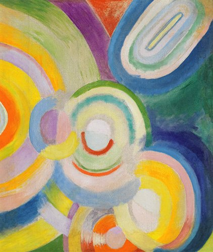 quadros-abstratos - Quadro - Disques colorés - - Delaunay, Robert