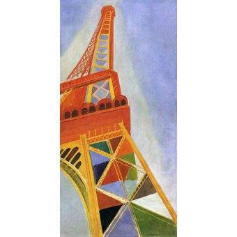 - Quadro - A Torre Eiffel, 1926 - - Delaunay, Robert