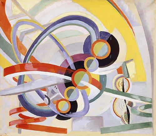 quadros-abstratos - Quadro - Hélice e ritmo, 1937 - - Delaunay, Robert