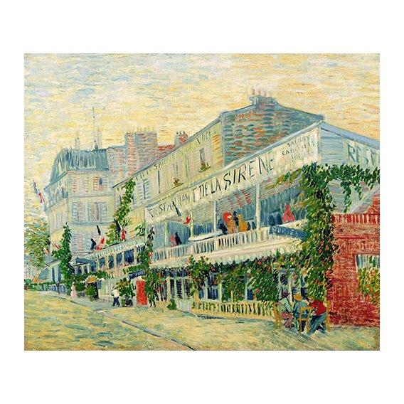 Quadro -Restaurant de la Sirène, Asnieres, 1887-