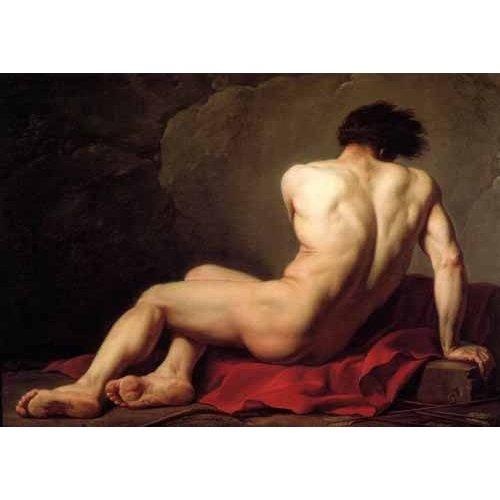 Quadro -Hombre desnudo conocido como Patroclus-