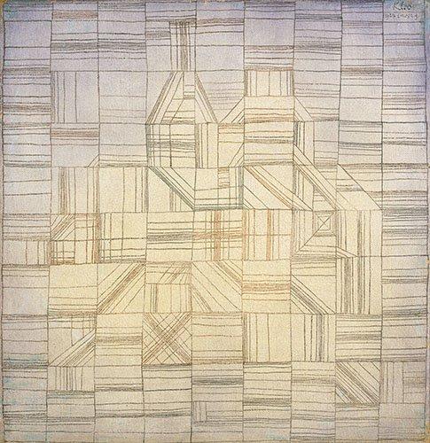 quadros-abstratos - Quadro - Variations (Progressive Motif) - - Klee, Paul