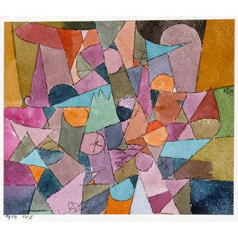 - Quadro - Untitled, 1914 - - Klee, Paul