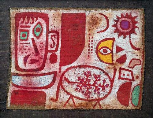 quadros-abstratos - Quadro - Rausch - - Klee, Paul