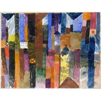 - Quadro - Na frente da cidade - - Klee, Paul