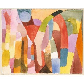 - Quadro - Movimento da abóbada - - Klee, Paul