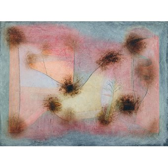 - Quadro - Plantas resistentes - - Klee, Paul