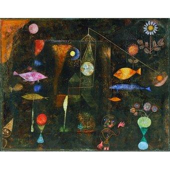 - Quadro - Fish Magic - - Klee, Paul