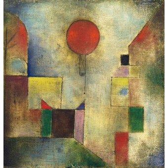 - Quadro - Red Balloon, 1922 - - Klee, Paul