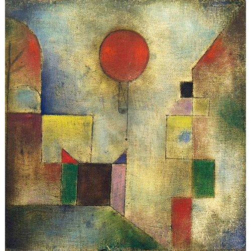 Quadro - Red Balloon, 1922 -