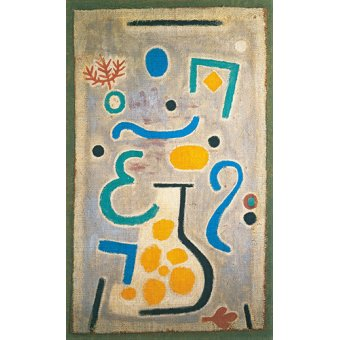 - Quadro - The Vase - - Klee, Paul