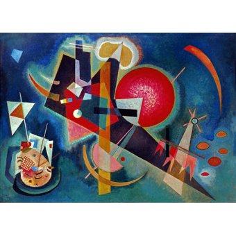 Quadros para quarto - Quadro - Em azul, 1925 - - Kandinsky, Wassily