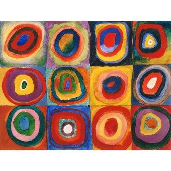 Quadros para quarto - Quadro - Círculos concêntricos, 1913 - - Kandinsky, Wassily