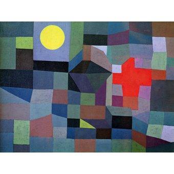 Quadros para quarto - Quadro - Fogo, Lua Cheia, 1933 - - Klee, Paul