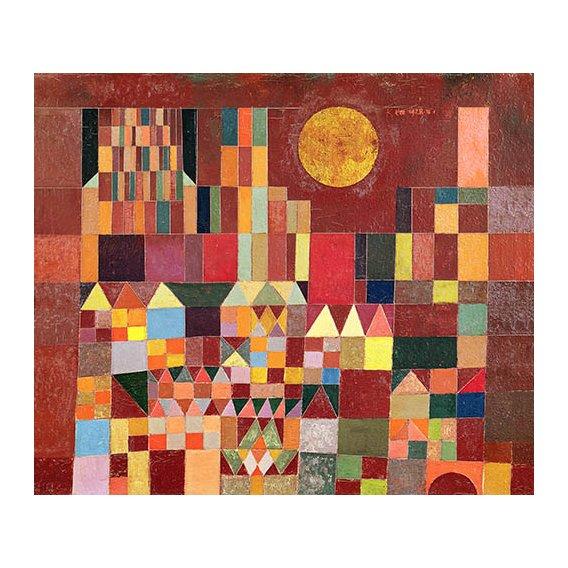 Quadro - Castelo e sol, 1928 -