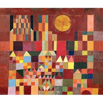 - Quadro - Castelo e sol, 1928 - - Klee, Paul