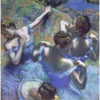 - Quadro -Blue Dancers- - Degas, Edgar