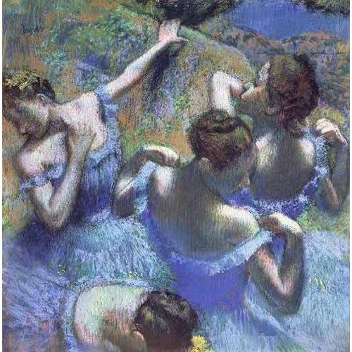 Cuadro -Blue Dancers-