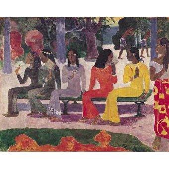 - Quadro -Ta Matete- - Gauguin, Paul