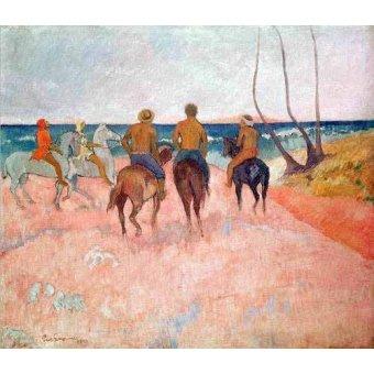 - Quadro -Hiva Hoa- - Gauguin, Paul