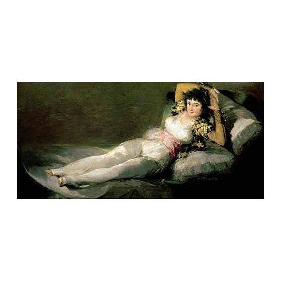 cuadros de retrato - Cuadro -La maja vestida-