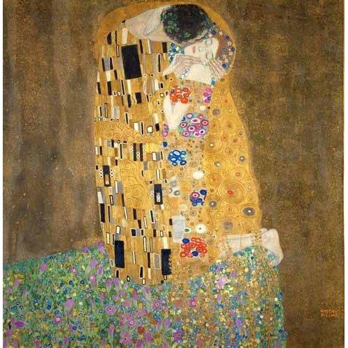 cuadros de retrato - Cuadro -Cuadro El beso-