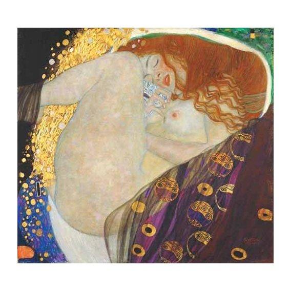 pinturas do retrato - Quadro -Danae-