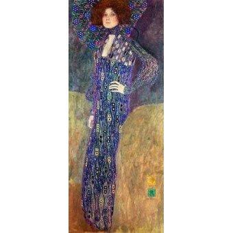 - Quadro -Emilie Floege- - Klimt, Gustav