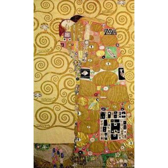 - Quadro -Fullfilment- - Klimt, Gustav