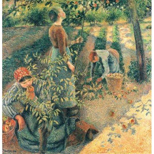 Quadro -Las recolectoras de manzanas-