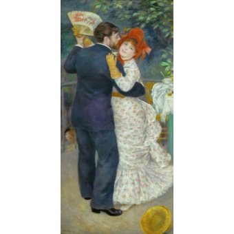 - Quadro -A Dance in the Country- - Renoir, Pierre Auguste
