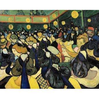 - Quadro -La sala de baile en Arles- - Van Gogh, Vincent