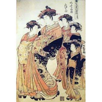 quadros étnicos e orientais - Quadro -jpk00265- - _Anónimo Japones