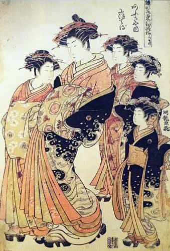 ethnic and oriental paintings - Picture -jpk00265- - _Anónimo Japones