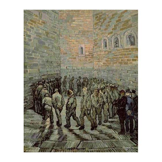 cuadros de retrato - Cuadro -La prisión de los convictos-