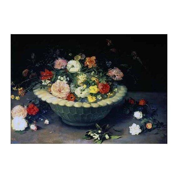 cuadros de flores - Cuadro -Florero-