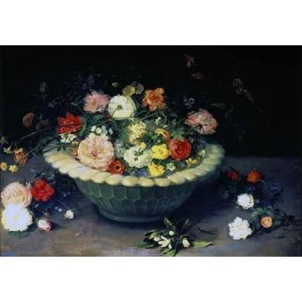 quadros de flores - Quadro -Florero- - Bruegel