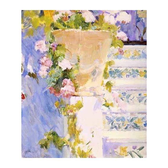 cuadros decorativos - Cuadro -Jardín de la casa del artista X-