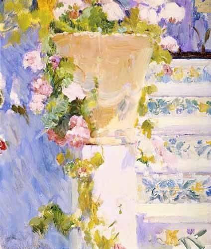 cuadros decorativos - Cuadro -Jardín de la casa del artista X- - Sorolla, Joaquin