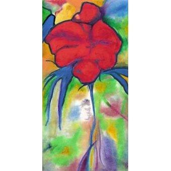 quadros de flores - Quadro -Amapoli- - Molsan, E.