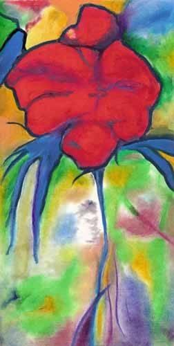 quadros-de-flores - Quadro -Amapoli- - Molsan, E.