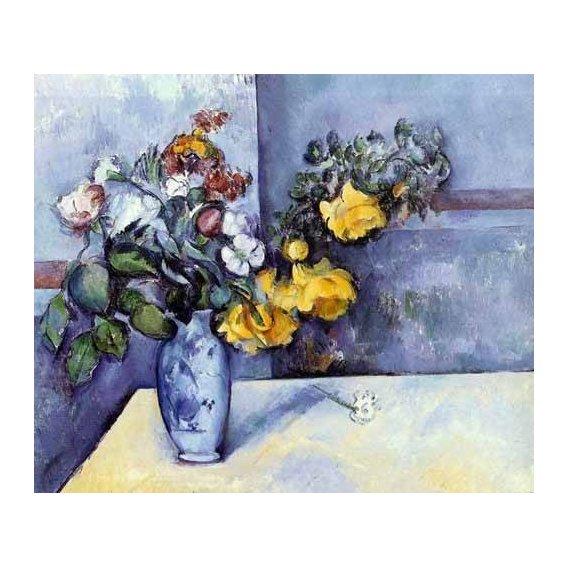 imagens de flores - Quadro -Flores en un jarrón-