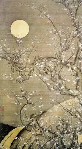 ethnic and oriental paintings - Picture -jpk00276- - _Anónimo Japones
