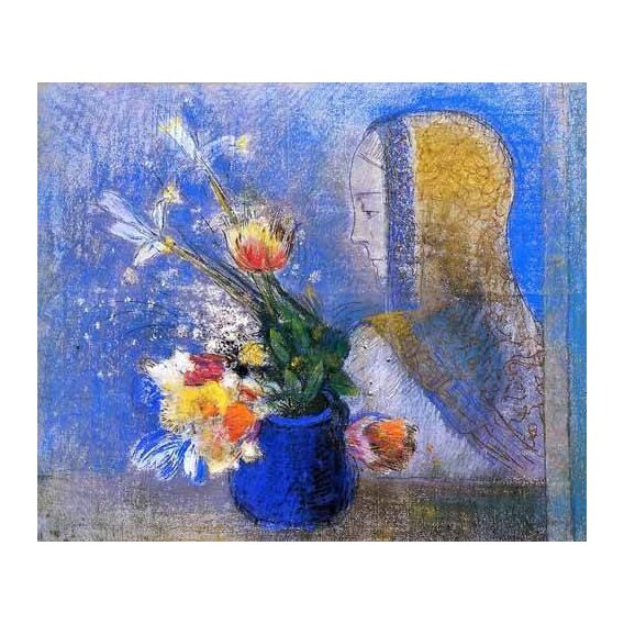 imagens de flores - Quadro -Meditation-