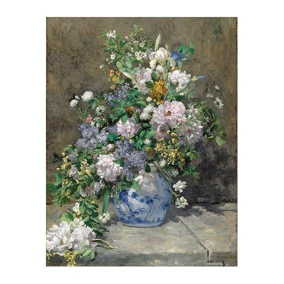 cuadros de flores - Cuadro -Ramo de Primavera-