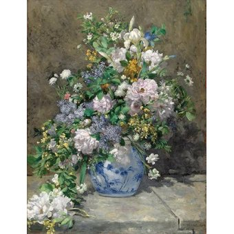 flowers - Picture -Ramo de Primavera- - Renoir, Pierre Auguste