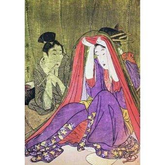 quadros étnicos e orientais - Quadro -jpk00784- - _Anónimo Japones