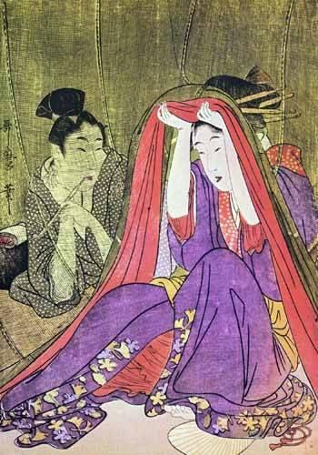 cuadros etnicos y oriente - Cuadro -jpk00784- - _Anónimo Japones