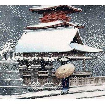 quadros étnicos e orientais - Quadro -js469b- - _Anónimo Japones